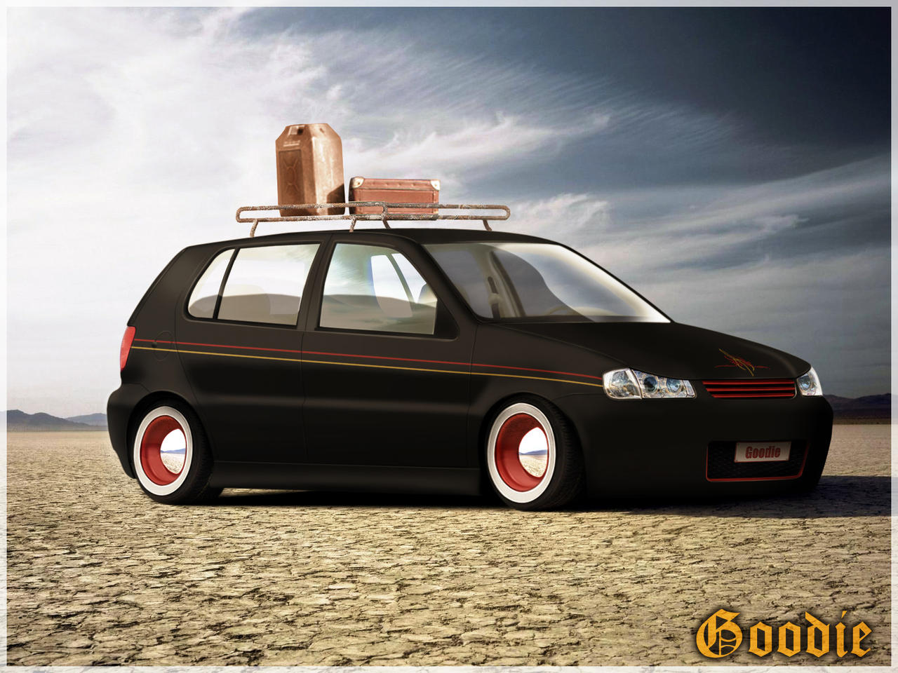 VW Polo Rat Style by