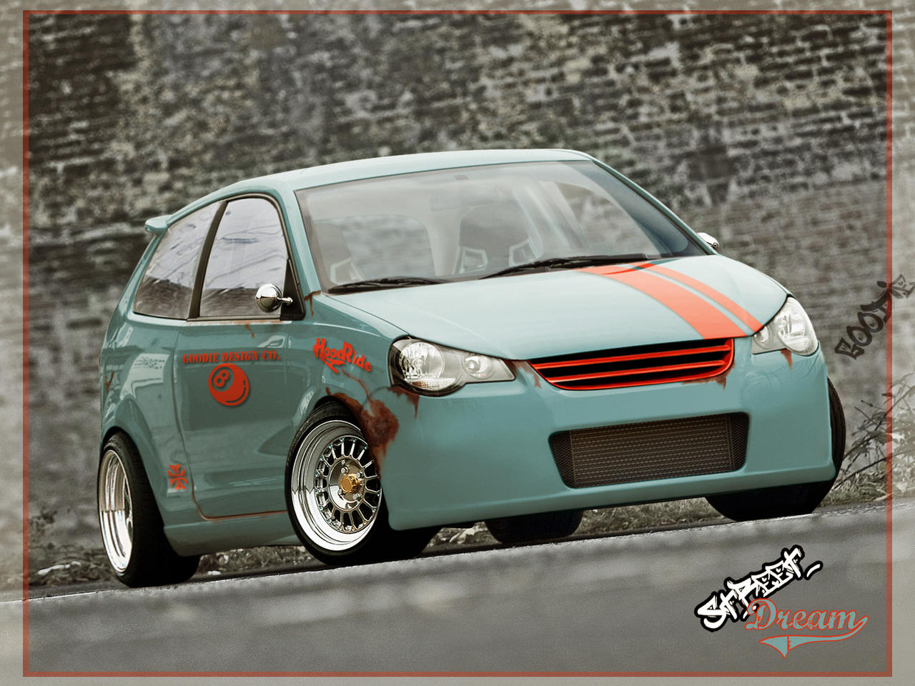 VW Polo GTi StreetDream by GoodieDesign on DeviantArt
