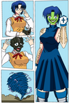 Ciel becoming The Mask Color