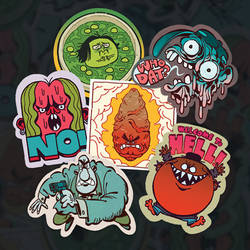 The Limited Edition Sticker Pack No.1 by TR-B