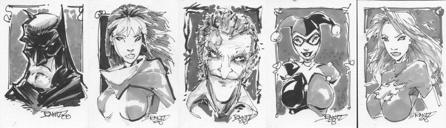 Random Sketchcards by rantz
