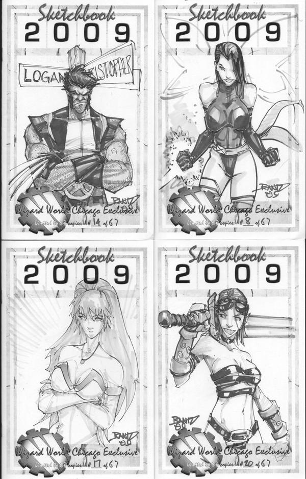 More Original Sketch Covers by rantz