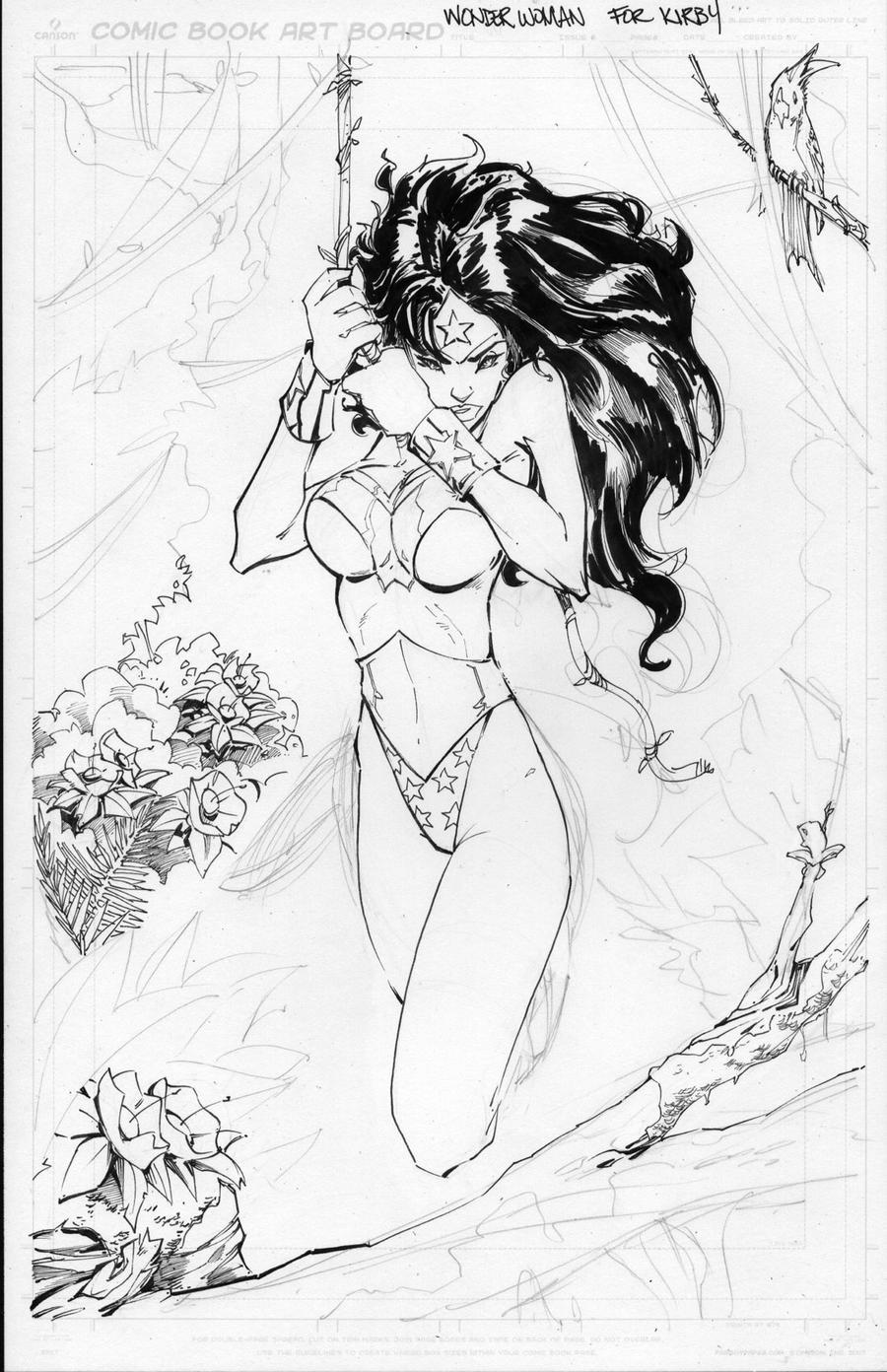 Wonder Woman Step 3 by rantz