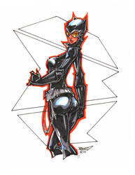 Marker Catwoman by rantz