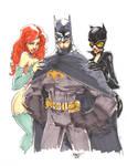 Commission - Batman n friends