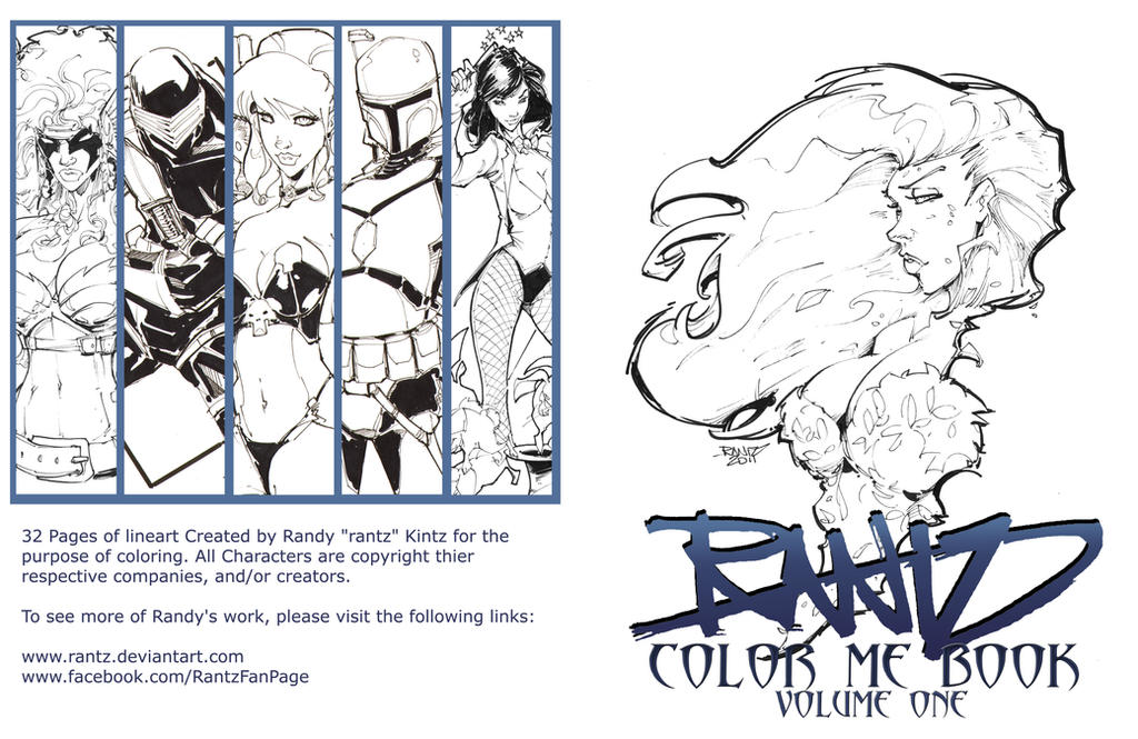 Coloring Book Cover Art by rantz