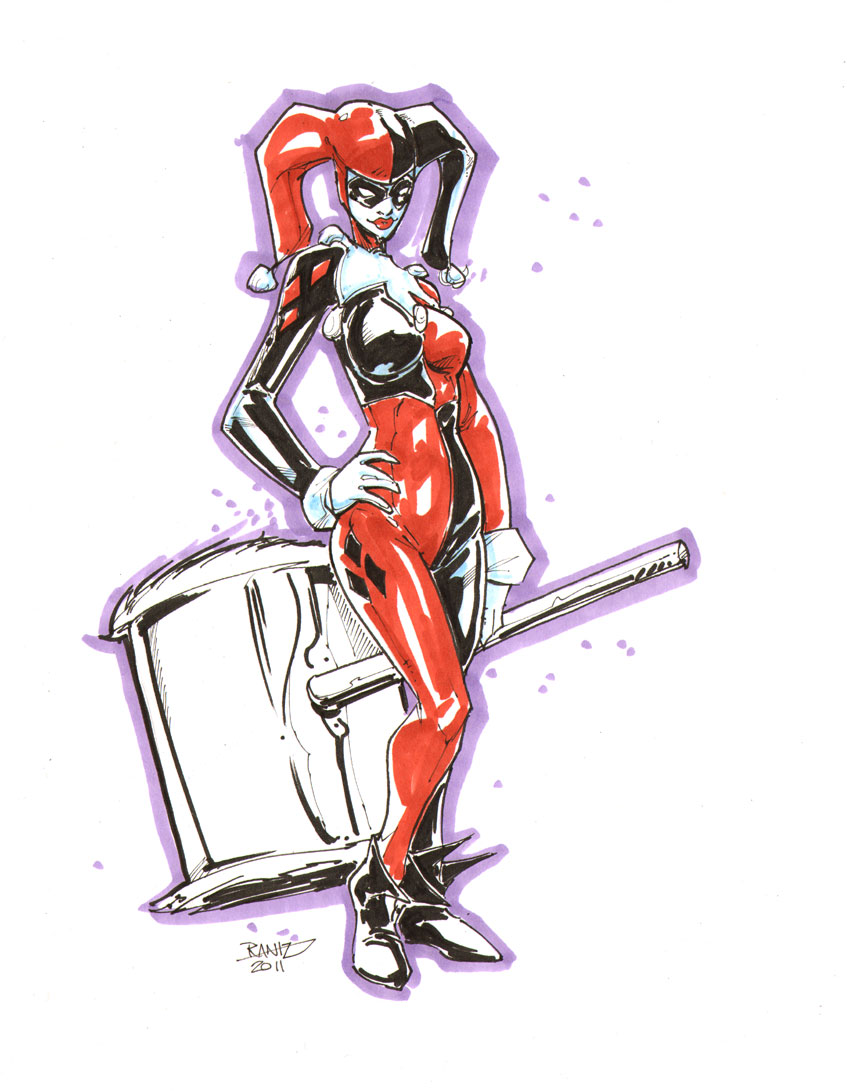 Ms Harley Quinn by rantz
