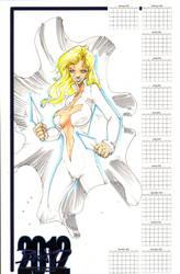 Dagger 2012 11x17 Calendar by rantz
