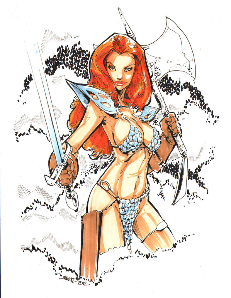 Red Sonja by rantz