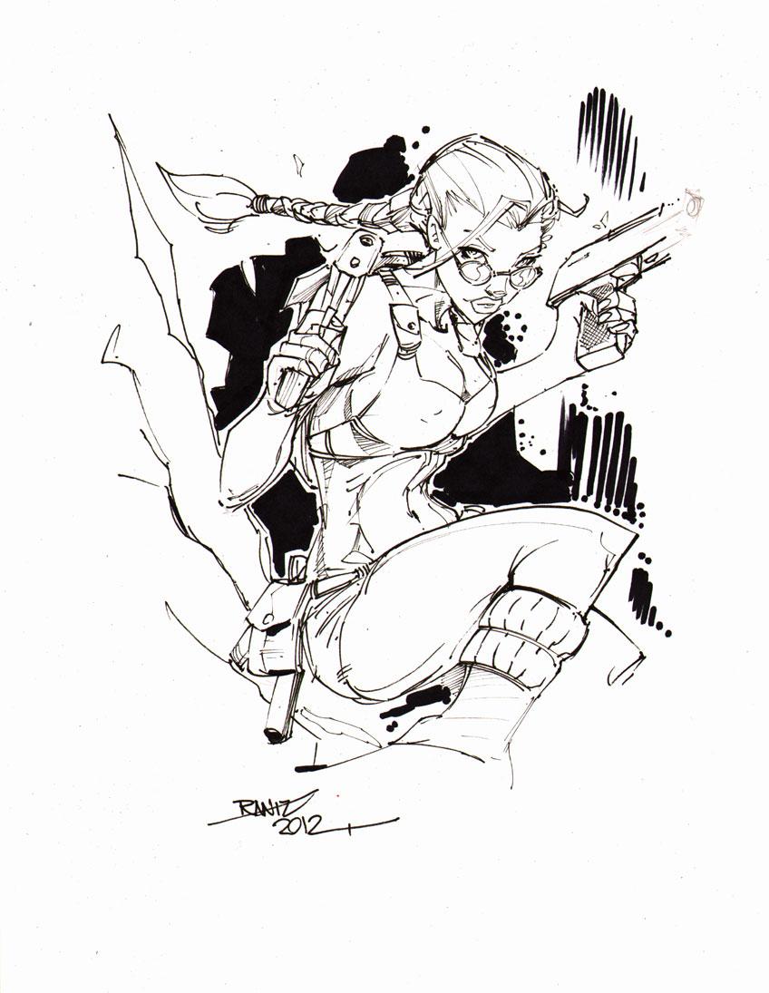 Lara Croft Tomb Raider by rantz