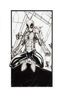 Hi Res Inks Spiderman by rantz
