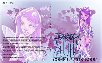 2012 COMPILATION BOOK COVER ART by rantz