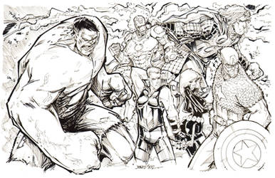Avengers Assemble....ish.... by rantz