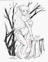 NEW SKETCHBOOK ART ELF by rantz