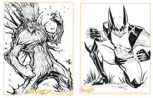 Groot and Wolvie by rantz