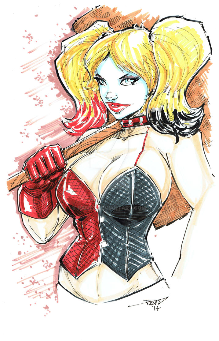 Harley Quinn by rantz