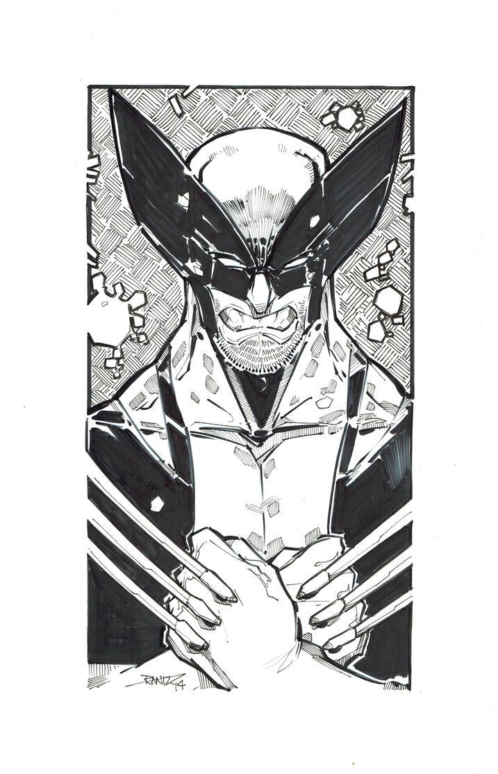 Wolverine Bw by rantz