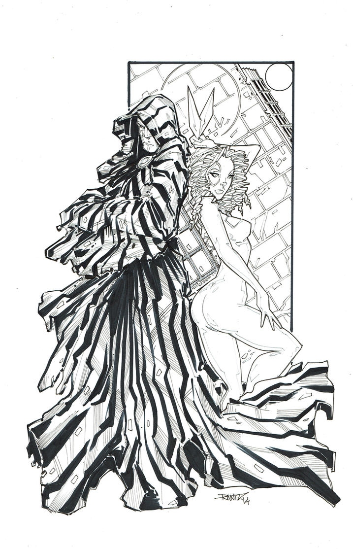 Cloak and Dagger BW by rantz