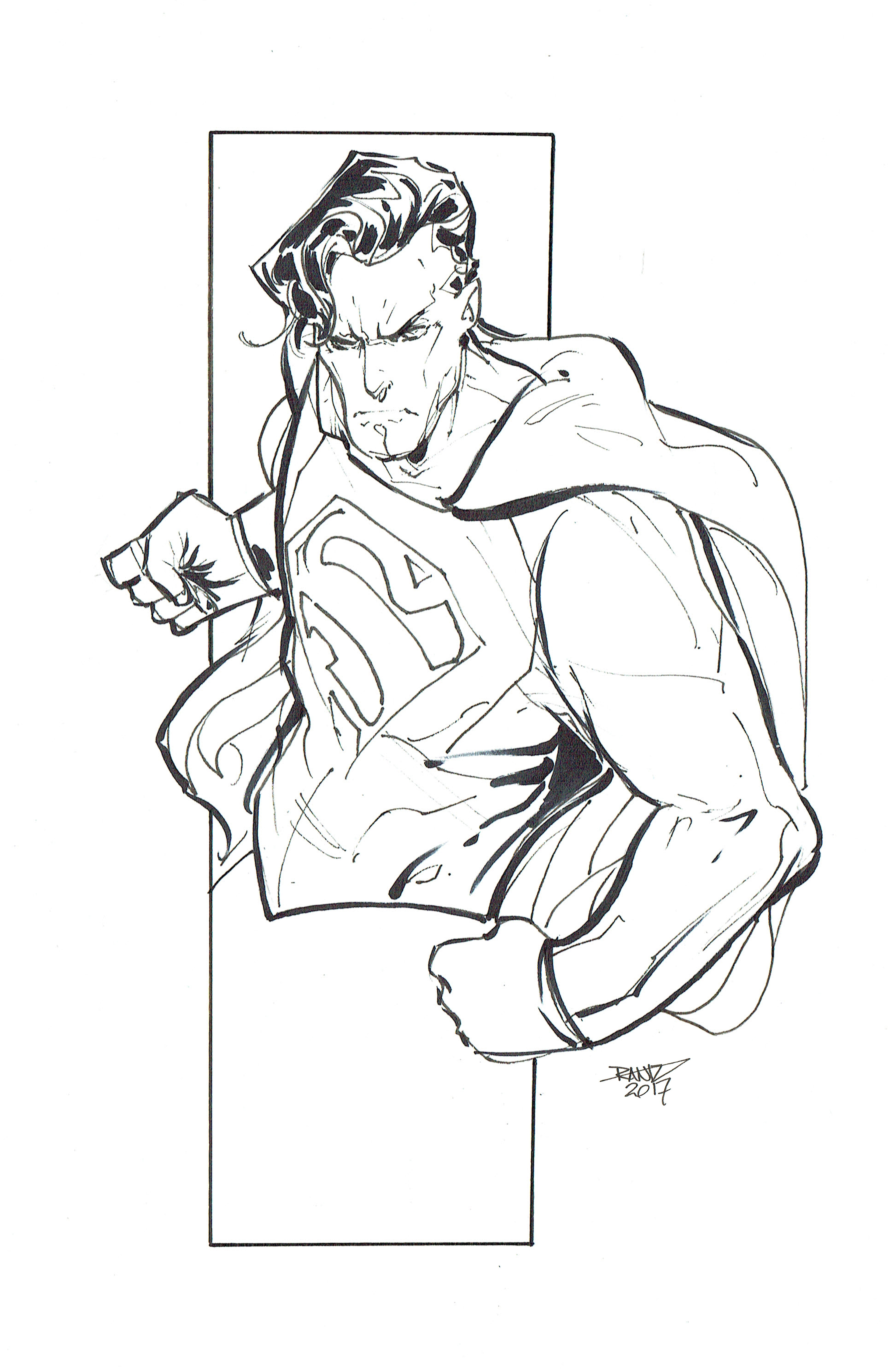 Superman for color by rantz