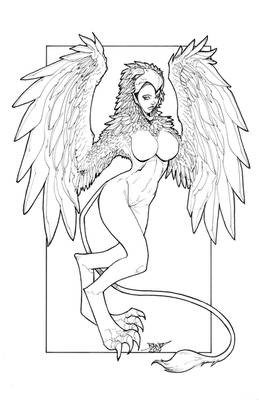 Harpy 02 PNG