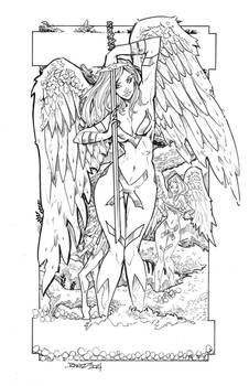 Rantz Angel For Coloring