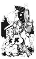INKS: Hellgirl FINAL by rantz