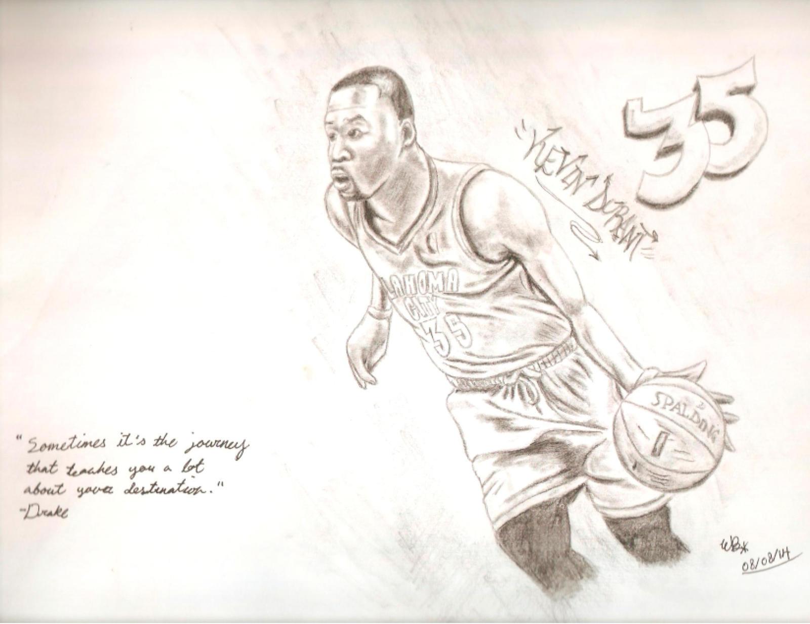pencil drawings of kevin durant wwwpixsharkcom