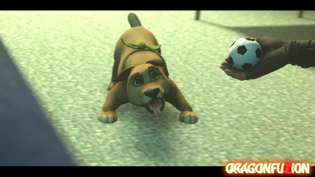 Does Bonesy Want the Ball? by DragonFuzion