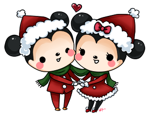Mickey and Minnie by Yoshiebutt