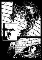 venom vs ghost rider by drazebot