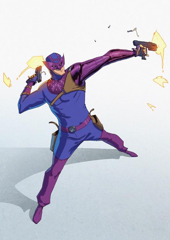 Hawkeye commission by drazebot
