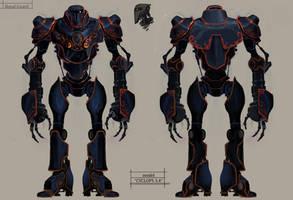 Royal guard Cyclop 3.4 by drazebot