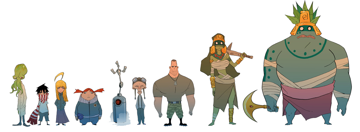 Curse Of the Mayans The first lineup by drazebot