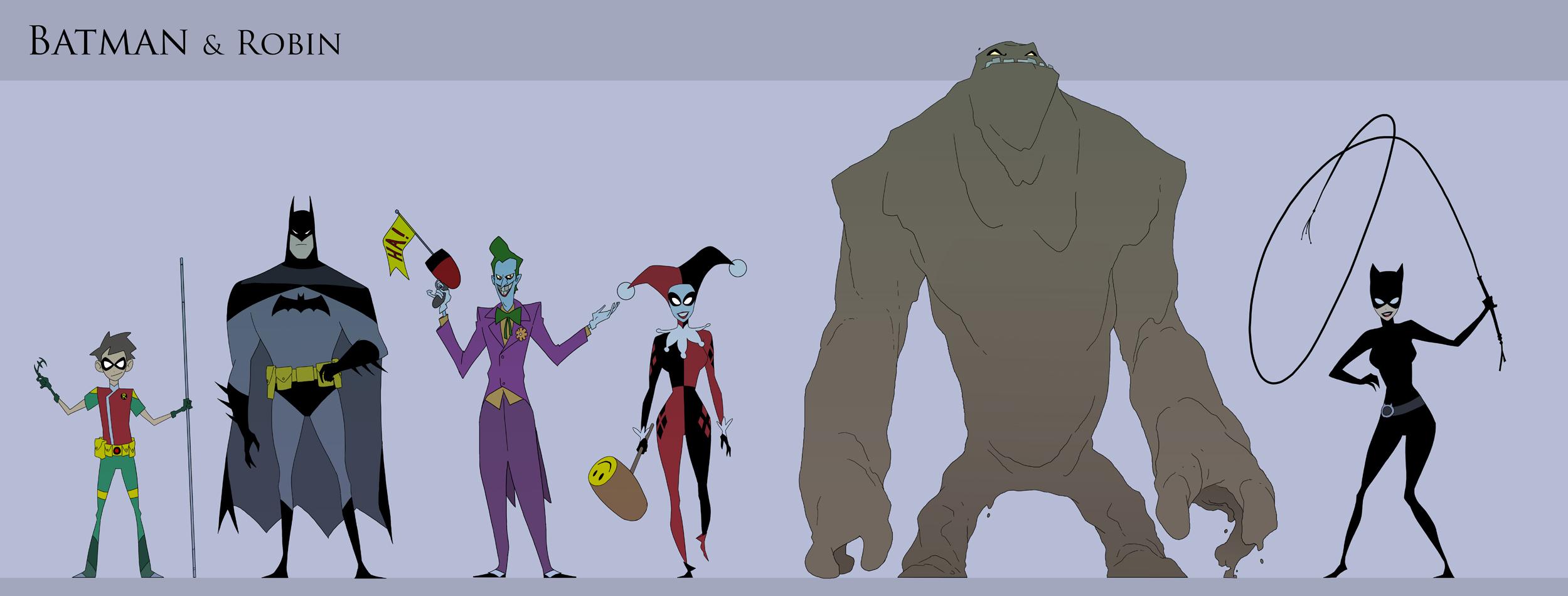 Batman and Robin Animated..... again by drazebot