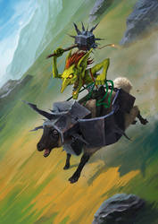 Battering Ram by drazebot