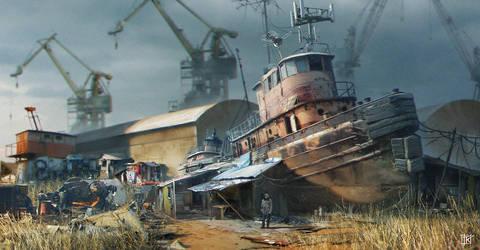 Tugboat by drazebot