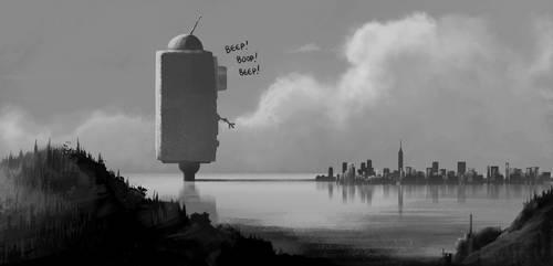 BEEP!Boop!BeEEEP! by drazebot