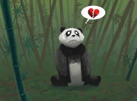 panda bear by drazebot