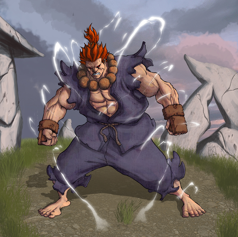akuma or gouki  u decide by drazebot