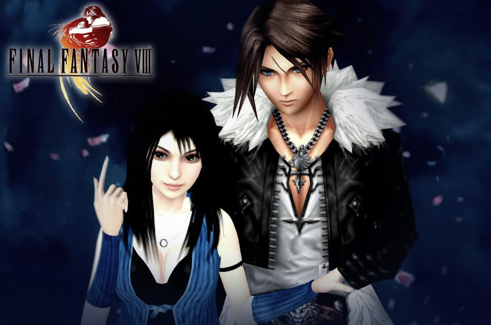 Rinoa and Squall - Final Final Fantasy Rinoa And Squall