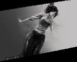 Yoruichi Shihoin - practicing 02