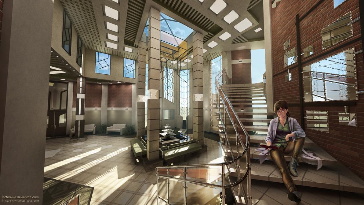 Interior design (sc-2) by froxalt on DeviantArt