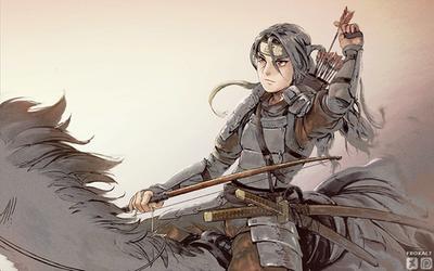 Itachi in armor (wallpaper)