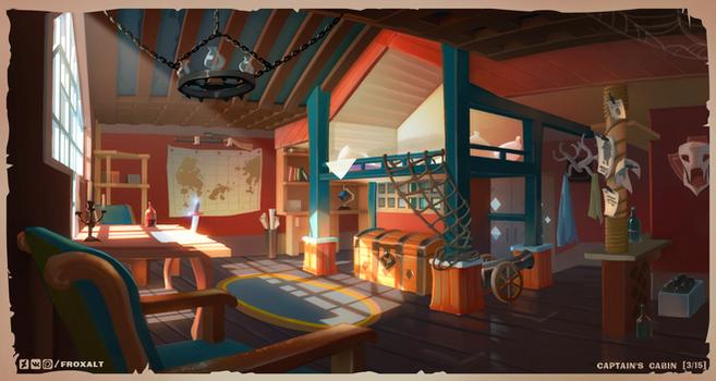 Concept artist challenge RPG4 - 3/15