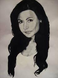 Naya Rivera - Santana Lopez Glee by 8Reckless-Abandon
