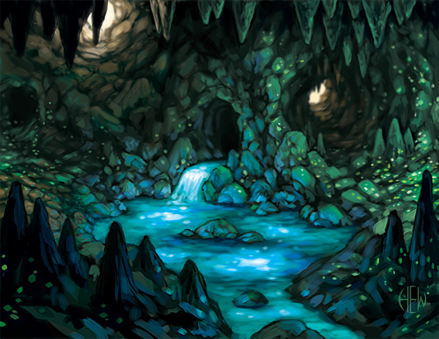 The Luminous Cavern by AlvinHew