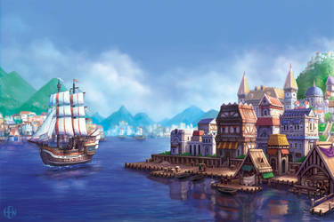 Port City by AlvinHew
