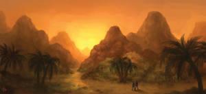 Desert Island by AlvinHew