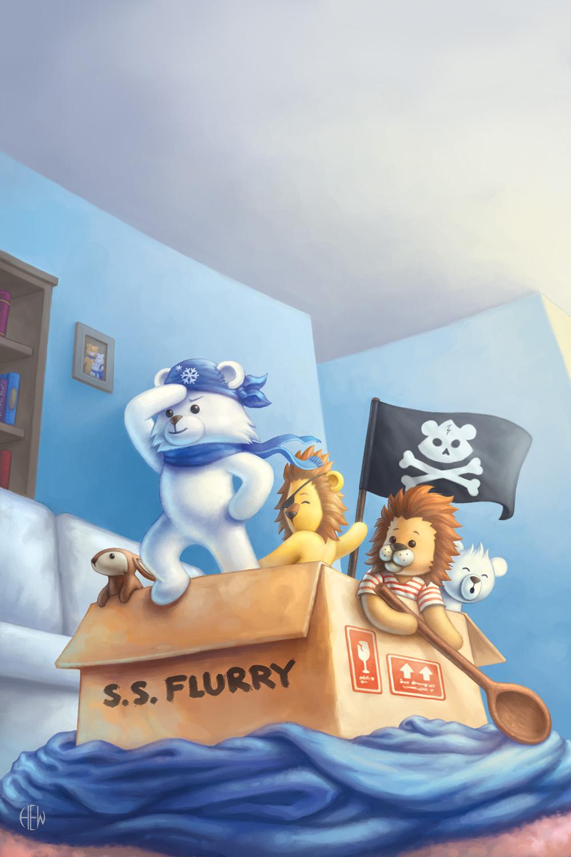 Pirates by AlvinHew