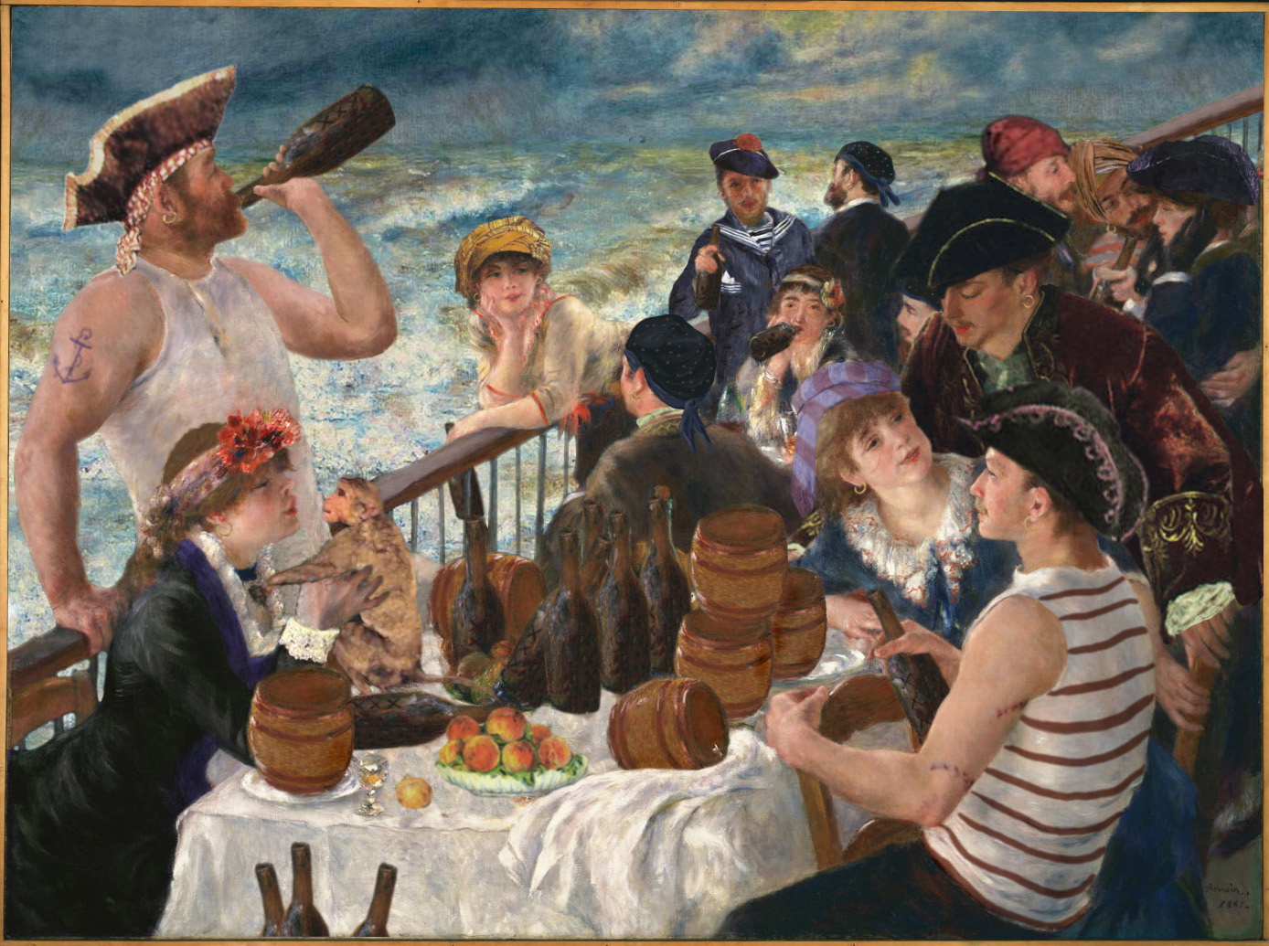 Luncheon of the Boarding Party